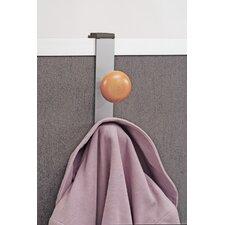 Over-The-Panel Double Adjustable Coat Hook
