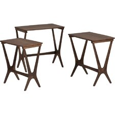 Laurel 3 Piece Nesting Table Set