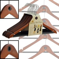 Wood Cascading Hanger (Set of 40)