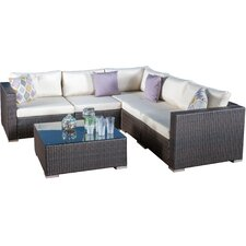 Venice 7 Piece Seating Group with Cushions