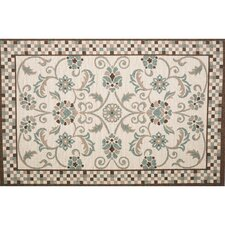 Roxanne Candiss Brown/Blue Area Rug