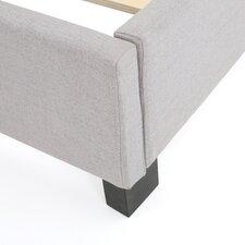 Gegard Light Grey Upholstered Bed Set
