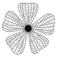 Floral Design Metal Wall Décor