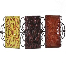 Patterened Designs Metal Wall Décor