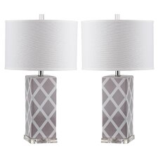 Johanna 68.58cm Table Lamp (Set of 2)