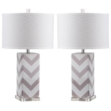 Effie 68.58cm Table Lamp (Set of 2)