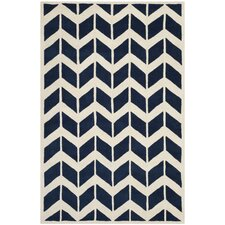 Brynn Hand-Tufted Blue Area Rug