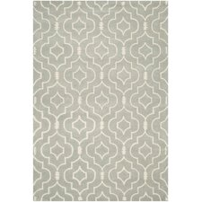 Matthews Hand-Tufted Grey Area Rug