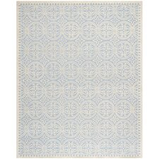 Palmer Light Blue/Ivory Area Rug