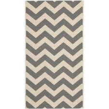 Courtyard Grey Indoor/Outdoor Area Rug
