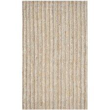 Handgewebter Teppich Aegina in Grau