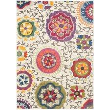 Teppich Salma in Elfenbein