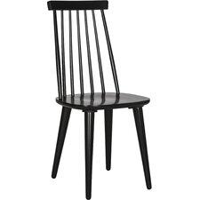 2-tlg. Esszimmerstuhl-Set aus Massivholz