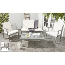 Marseille 4 Seater Sofa Set with Cushions