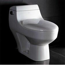 1.28 GPF Elongated 1 Piece Toilet
