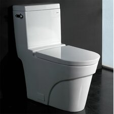 1.28 GPF Elongated Toilet 1 Piece
