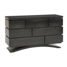 Milano 7-Drawer Double Dresser