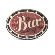 "Lighted ""Bar"" Sign"