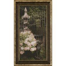 Ashton Art & Décor Hydrangia I Framed Painting Print