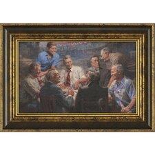 Ashton Art & Décor True Blues Framed Painting Print