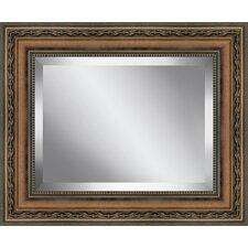 Rectangle  Antique Framed Beveled Plate Glass Mirror