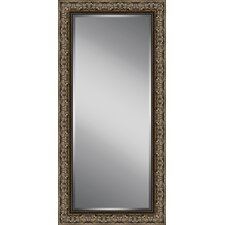 Decorated Beveled Plate Glass Mirror