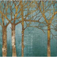 Ashton Art & Décor Golden Day Painting Print