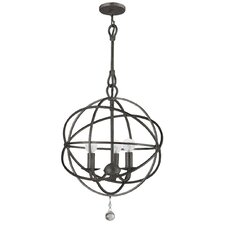 Chloe 3 Light Mini Foyer Pendant