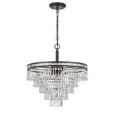 Mercer 6 Light Crystal Chandelier