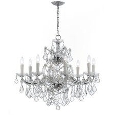 Maria Theresa 9 Light Crystal Chandelier