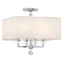 Paxton 4 Light Semi Flush Mount