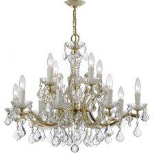 Maria Theresa 12 Light Crystal Chandelier