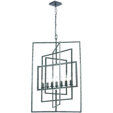 Capri 7 Light Candle Chandelier
