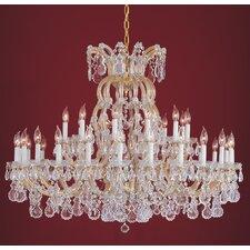 Maria Theresa 36 Light Chandelier