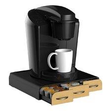 36 K-Cup Wood Veneer Coffee Drawer