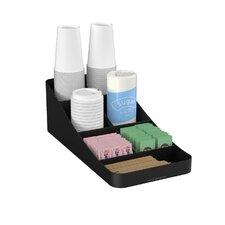 Trove 7 Compartment Coffee Condiment Organizer