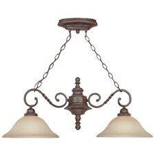 Sutherland 2 Light Pendant