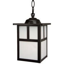 Mission 1 Light Outdoor Hanging Lantern