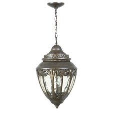 Olivier 3 Light Outdoor Hanging Lantern