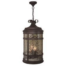 Espana 4 Light Outdoor Hanging Lantern