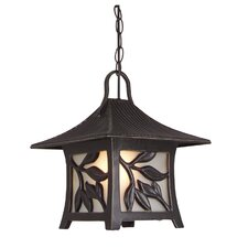 Mandalay 1 Light Outdoor Hanging Lantern
