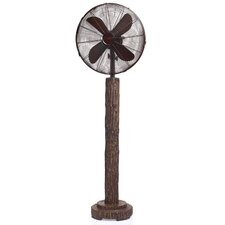Fir Bark Oscillating Floor Fan