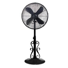 Ebony Oscillating Floor Fan