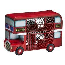 Double Deck Bus Figurine Table Fan