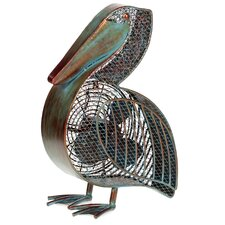 Pelican Figurine Table Fan