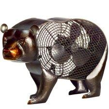 Bear Figurine Table Fan
