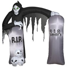 Archway Reaper Airblown Inflatable Halloween Decoration