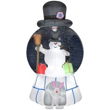 Airblown Inflatables Snow Globe-Frosty with Presents-Frosty