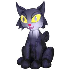 Airblown Inflatables Outdoor Scary Cat