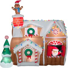 Airblown Inflatables Animated Gingerbread House